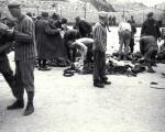 Presoners en el camp d'extermini de Mauthausen